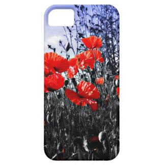 ケシの花のケシの花 iPhone 5 ベアリーゼアケース