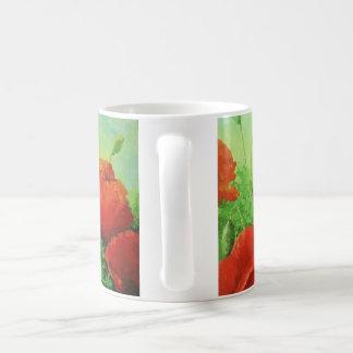 ケシの花のマグ コーヒーマグカップ