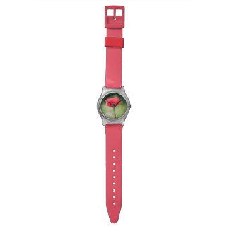 ケシの花の腕時計 腕時計