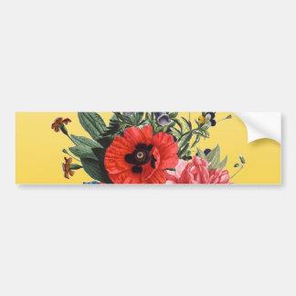 ケシの花束 バンパーステッカー