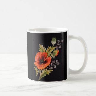 ケシの花 コーヒーマグカップ