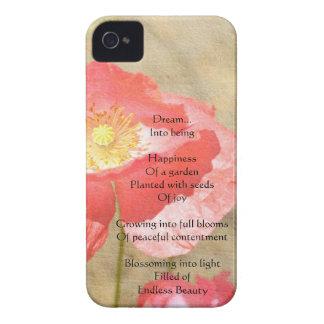 ケシの表現の幸福iPhone4の場合 Case-Mate iPhone 4 ケース