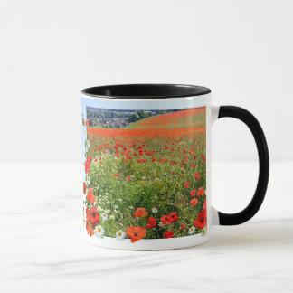 ケシ分野のマグ マグカップ