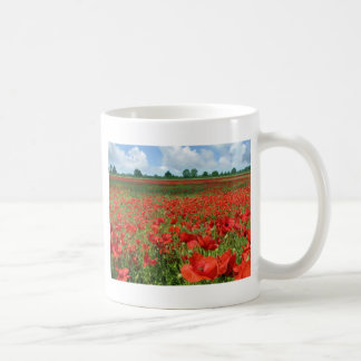 ケシ分野 コーヒーマグカップ