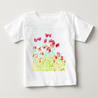 ケシ分野 ベビーTシャツ