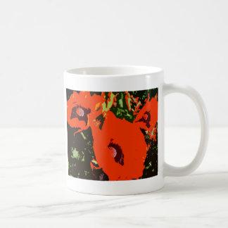 ケシ5 コーヒーマグカップ
