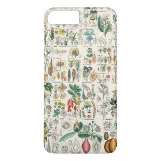 ケシ、すみれ色の植物分類 iPhone 7 PLUSケース