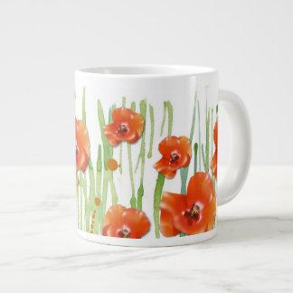 ケシ ジャンボコーヒーマグカップ