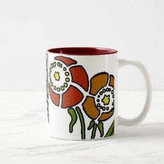 ケシ ツートーンマグカップ