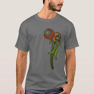 ケシ(暗い) Tシャツ
