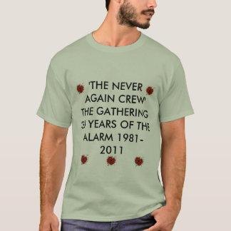 ケシ、警報ケシ、警報ケシ、警報poを…驚かして下さい tシャツ
