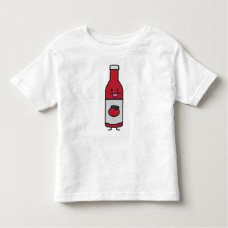 ケチャップボトルのトマトソースのテーブルの香辛料の空想 トドラーTシャツ
