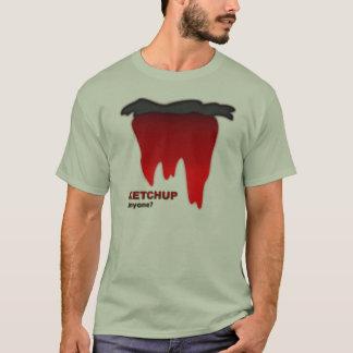 ケチャップ、だれでもか。 Tシャツ