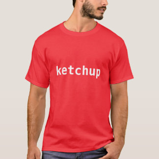 ケチャップ Tシャツ