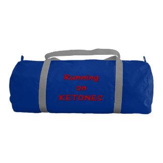 ケトンの体育館のバッグで走ること ジムバッグ