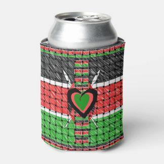 ケニヤのクーラーボックス 缶クーラー