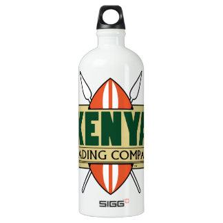 ケニヤの商事会社のロゴ ウォーターボトル