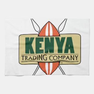 ケニヤの商事会社のロゴ キッチンタオル