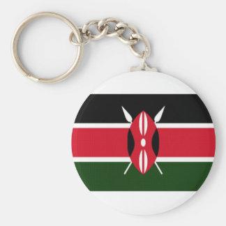 ケニヤの国旗 キーホルダー