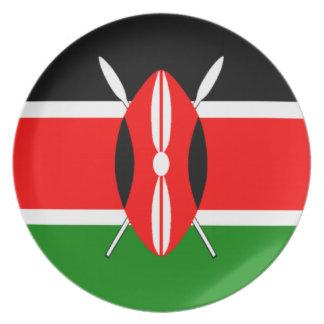 ケニヤの旗 お皿