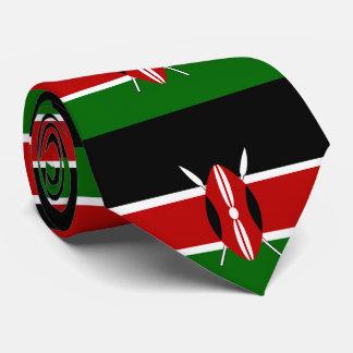 ケニヤの旗 オリジナルネクタイ