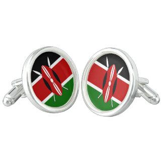 ケニヤの旗 カフスリンク