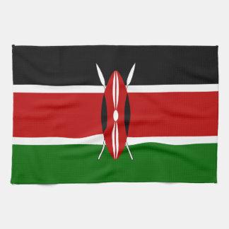 ケニヤの旗 キッチンタオル