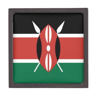 ケニヤの旗 ギフトボックス
