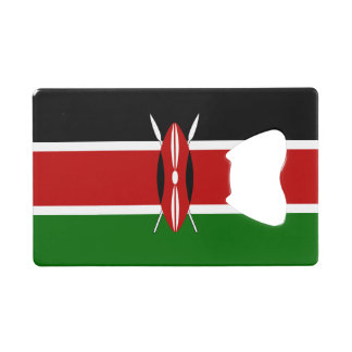 ケニヤの旗 クレジットカード 栓抜き