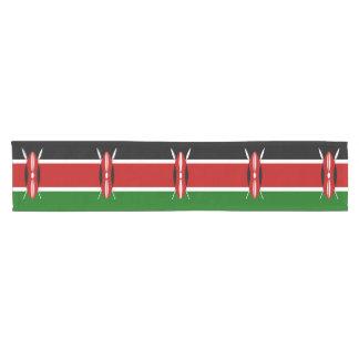 ケニヤの旗 ショートテーブルランナー
