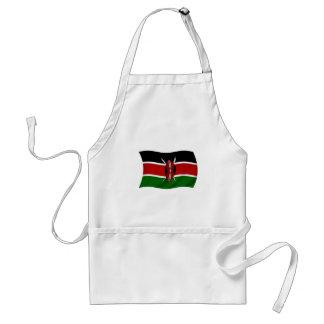 ケニヤの旗 スタンダードエプロン