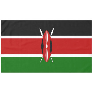 ケニヤの旗 テーブルクロス
