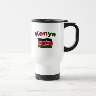 ケニヤの旗 トラベルマグ