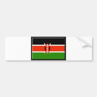 ケニヤの旗 バンパーステッカー