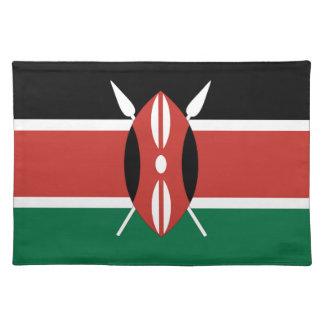 ケニヤの旗 ランチョンマット