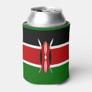 ケニヤの旗 缶クーラー