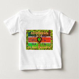 ケニヤHakuna Matata ベビーTシャツ