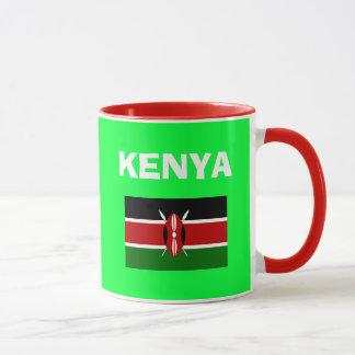 ケニヤKE -国番号のマグ マグカップ