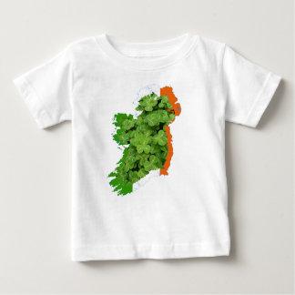 ケネスYoncich著アイルランドの地図 ベビーTシャツ
