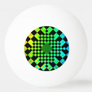 ケネスYoncich著チェック模様の錯覚 卓球 ボール