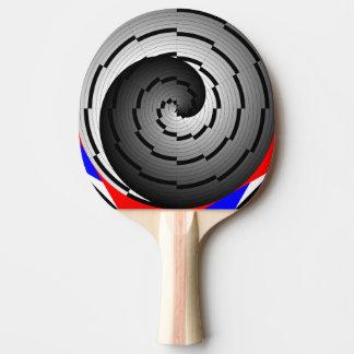 ケネスYoncich著二重陰陽の螺線形 ピンポンラケット