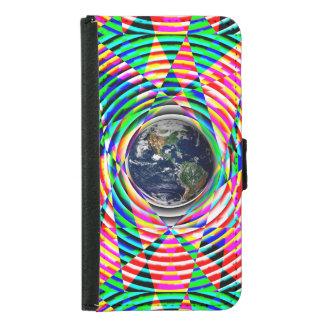 ケネスYoncich著地球の感情 Galaxy S5 ウォレットケース
