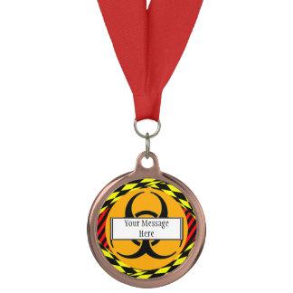 ケネスYoncich著生物学的災害[有害物質]のデザイン メダル