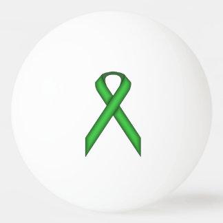 ケネスYoncich著緑標準的なリボン 卓球ボール