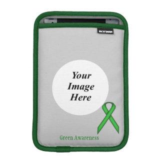 ケネスYoncich著緑標準的なリボン iPad Miniスリーブ
