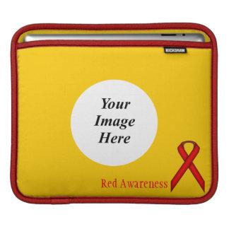 ケネスYoncich著赤い標準的なリボン iPadスリーブ