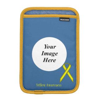 ケネスYoncich著黄色い標準的なリボン iPad Miniスリーブ