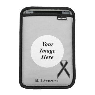 ケネスYoncich著黒い標準的なリボン iPad Miniスリーブ