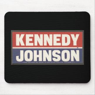 ケネディおよびジョンソンのマウスパッド マウスパッド