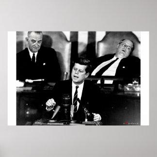 ケネディのスピーチ ポスター
